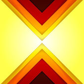 Abstract red and orange triangle shapes — Foto de Stock