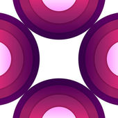 Abstract purple paper round shapes background — Foto de Stock