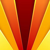 Abstract background with red and orange layers — Stock fotografie