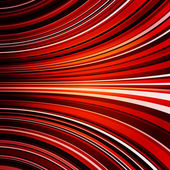 Abstract warped red stripes colorful background — Stock Photo