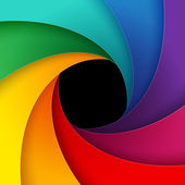 Swirly colorful paper background — Stock Photo