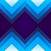 Abstract blue paper triangle shapes background — Foto de Stock