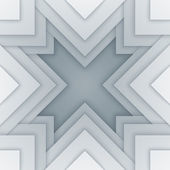 Abstract white and gray triangle shapes background — Stock Photo