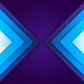 Abstract blue triangle shapes background — Stock Photo