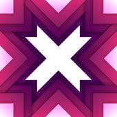 Abstraktní fialový trojúhelníček obrazců pozadí — Stock fotografie
