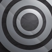 Abstract grey paper circles background — ストック写真