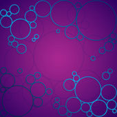 Abstract background with purple shining circles — Stock Photo