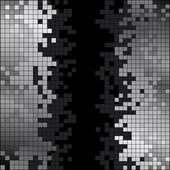 Abstract background with black and white pixels — Foto de Stock