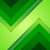 Abstract green triangle shapes background — Foto Stock