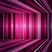 Abstract purple warped stripes background — Stock Photo