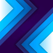 Abstract blue triangle shapes background — Stock fotografie