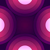 Streszczenie fioletowy papier okrągły kształtów — Zdjęcie stockowe