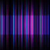 Abstract retro blue and purple stripes background — Foto de Stock