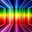 Stock Photo: Abstract rainbow stripes background