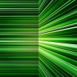 Stock Photo: Abstract warped green stripes colorful background