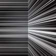 Stock Photo: Abstract warped grey stripes background