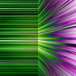 Stock Photo: Abstract warped green and purple stripes