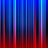 Abstract striped red and blue background — Stock Photo