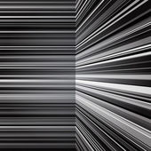 Abstract warped grey stripes background — Stock Photo