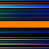 Abstract striped blue, brown and orange background — Stock Photo