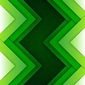 Fondo formas abstractas triángulo verde — Foto de Stock