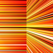 Abstract warped orange and yellow stripes — ストック写真