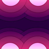 Abstract purple round shapes background — Foto Stock