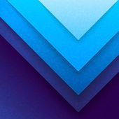 Abstract blue paper triangle shapes background — Stock Photo