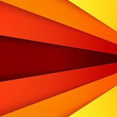 Abstract background with red and orange layers — Stock Photo