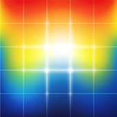 Blurred vibrant rainbow colors abstract background — Stock Photo