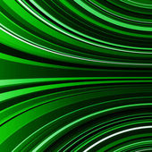 Abstract warped green stripes colorful background — Stock Photo