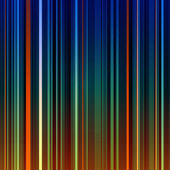 Abstract striped orange and green background — Stock Photo