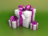 Holiday gift — Stock Photo
