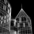 Abstract architecture - Foto Stock