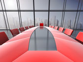 Conference room interio — Stock Photo
