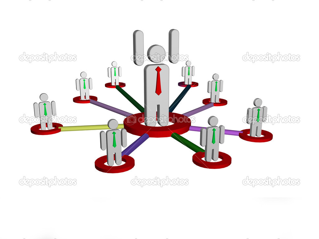 Network concept  — Stock Photo #12457049