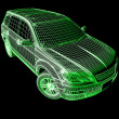 3d Car art — Stock Photo #13306749