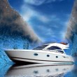 Luxury yacht — Stock Photo #13308933