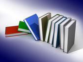 Colored books — Stock Photo