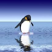 Забавные пингвины — Стоковое фото