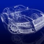 Car model — Stock Photo #13327989