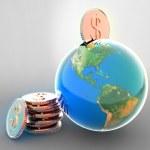 Global safe — Stock Photo