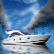 Luxury Yacht — Stock Photo #13325733