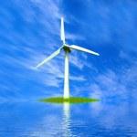 Parque eólico de turbina — Foto de Stock