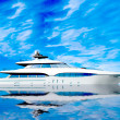 Luxury Yacht — 图库照片