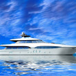 Luxury Yacht - Foto Stock
