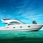Luxury Yacht — Stock Photo #13325829