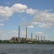 Stock Photo: Industrial landscape