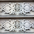 Detail of an architectural ornament — Stok fotoğraf