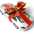 Royalty-Free Stock Photo: Gift Car